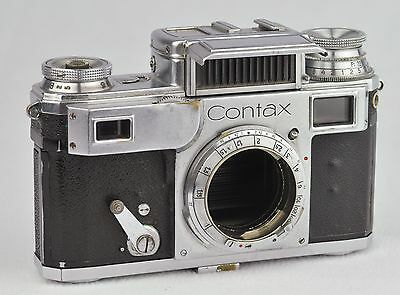 ZEISS IKON CONTAX III CAMERA , working shutter