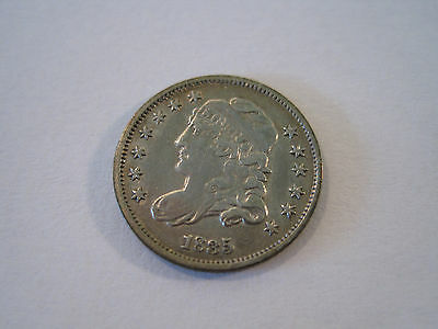 Beautiful High Grade 1835 Capped Bust Silver Half Dime 5c 1/2 Dime 5 Cents *7482