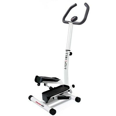 Stepper Everfit  Mini Stepper con manubrio STEP TWIST movimento meccanico latera