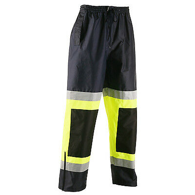 Galls ANSI 3 Two Tone Reflective Rain Pants size xl new  free us shipping