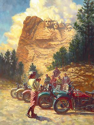 "Direct from the Artist - ""Rushmore"" limited edition paper print by David Uhl"