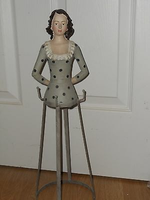 ~~~~Awesome ~Santos Cage Doll~Carved Wooden Mannequin Form~Must See~~~