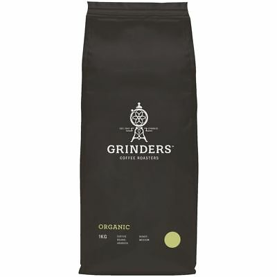 Grinders Organic Fairtrade Blend Coffee Beans 1kg