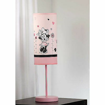 Disney Minnie Mouse Hello Gorgeous Lamp and Shade