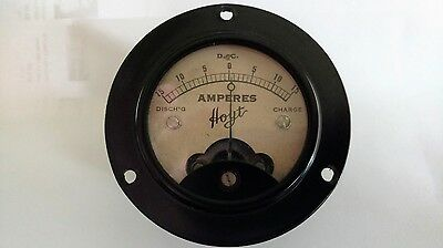 Old Hoyt DC Ammeter