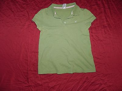 Old Navy Maternity Green Polo Shirt Top Small S