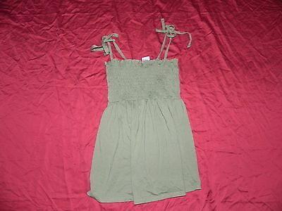 Oh! Baby by Motherhood Maternity Green Tank Shirt Top Small S