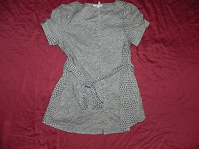Old Navy Maternity Button Up Animal Print Shirt Top Small S