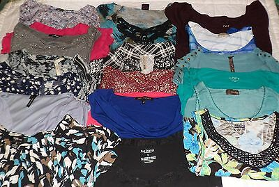 Lot of 18 Women's Shirts Sizes Small and Medium, The Loft, Express and Many More
