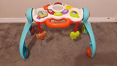 Vtech little friendlies 3-in-1 baby activity centre walker