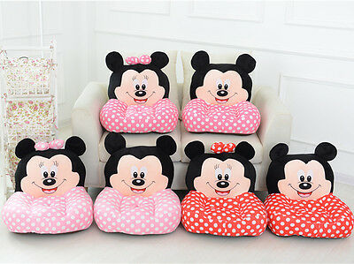 Mickey Mouse Kids Soft Sofa Stuffed Animal Cartoon Chair Child Playing Rest Seat
