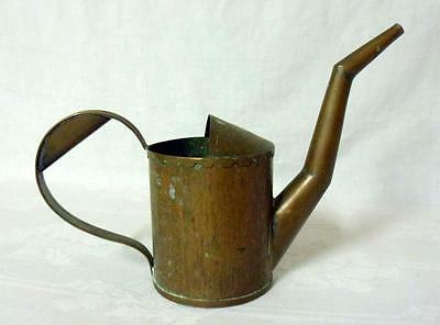 Antique Arts & Crafts Hammered Copper Garden Watering Can
