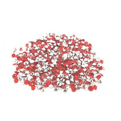 520 Strass Acryliques Rouge 4mm - Neuf