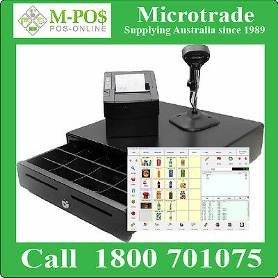 Restaurant Software Point of Sale Package, Thermal Printer, Scanner, Cash Drawer