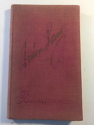 1930 Reminiscences By Anton Lang Passion Plays Christus Actor W/ Bookplate