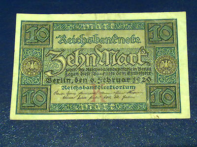 Germany - 10 Mark 1920 -  Very Fine/3/