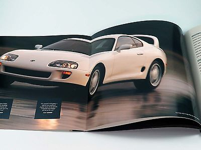 Original Toyota Supra Turbo Sales Brochure Book Catalog 1994