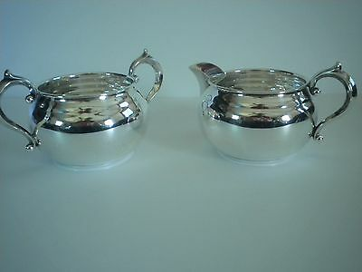 Gorham Sterling Silver Cream & Sugar Set 909 & 910
