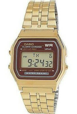 Casio WR women's gold square face watch
