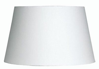 Oaks Lightning S901/6 - Paralume in cotone, 15 cm, colore: bianco