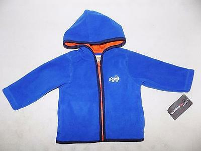 Carter's Baby Boys Blue Hoodie Jacket 100% Polyester NWT Size 6/9M