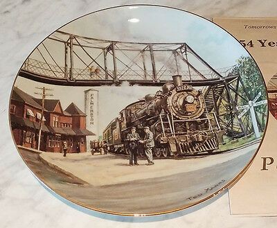 54 Years of Glory - Ted Xaras Signed Collectors Plate - 942/4500