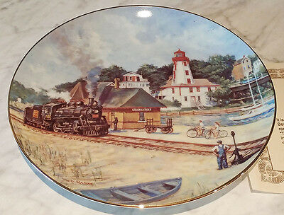 The Guiding Light - Kincardine's Beacon - Collectors Plate by Ted Xaras - #831