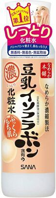 SANA Nameraka Honpo Soy Milk Moisturizing Lotion Toner Moist Type from Japan