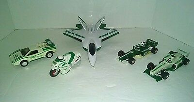Hess Vehicle F-22 Lambergini Formula 1 Racecars & Motorcycle Lot