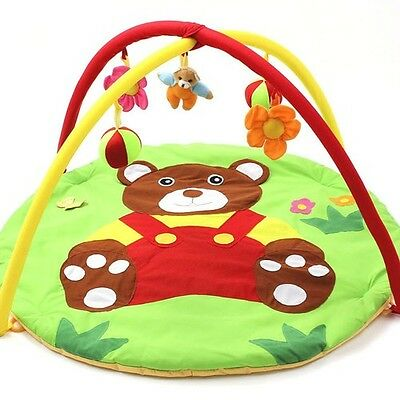 Bear Baby Toy Baby Play Mat 0-1 Year Game Tapete Infantil Educational Crawling