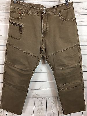 Kuhl Rebel Runner Crag Series Brown Hiking Outdoor Pants Men's Sz 38 x 30