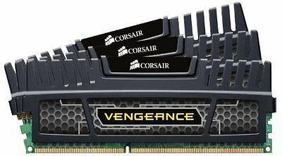 Corsair CMZ12GX3M3A1600C9 Vengeance Kit di Memoria Triple Channel da 12 GB (3x4
