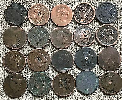 20 cull and dateless Large Cents - Lot 1