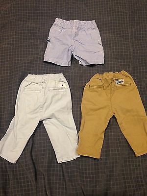 Boys Country Road Bundle Size 0 6-12!monrths Chino Pants And Shorts