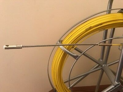 Traceable Wire Nbn  Fibreglass Rodder Fish Snake Cable Puller 4.5 Mm X 100Mts