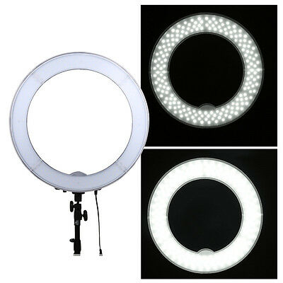 "19"" Outer 55W 240PCS LED Ring Light 5500K Dimmable Photography Ring Video Light"