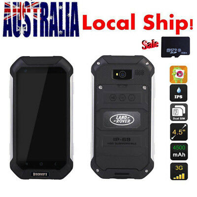 32GB Android 6.0 Discovery Rugged V19 Smartphone 4.5'' Dual SIM Unlocked Mobile