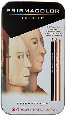Prismacolor Premier Colored Pencils Portrait Set Soft Core 24 Count