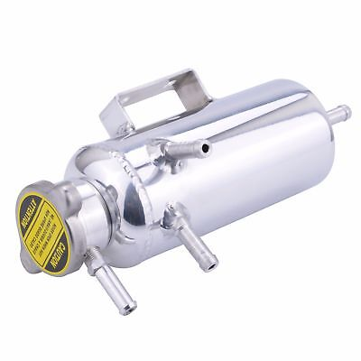 Radiator Expansion Overflow Tank - Engine Coolant Water Alloy Bottle Polished