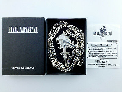 Final Fantasy VIII Silver 925 Necklace Sleeping Lionheart 1999 Square Squall