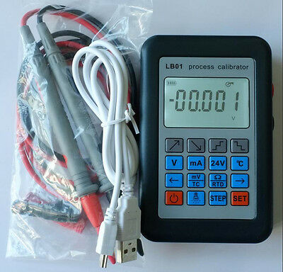LB01 Process Calibrator Resistance Current Voltmeter Signal Generator Source