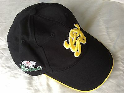 Grolsch Brewery Beer Hat  Cap  Black & Gold  New  Collectable