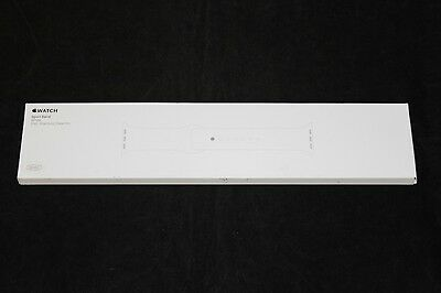 NEW Genuine Apple Sport Band for Apple Watch 38mm White w/ Steel Pin MJ4E2ZM/A