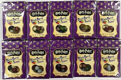 901983 10 x 35g BOXES OF HARRY POTTER BERTIE BOTT'S JELLY BEANS, EVERY FLAV. USA
