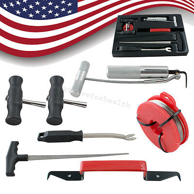 USA!7Pcs/Kit Professional Auto Car Windshield Remover Tools Window Glass Removal
