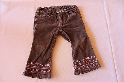 "Size 0 Baby Girls ""Pumpkin Patch"" Cute Brown Jeans. Great Condition! Bargain!"