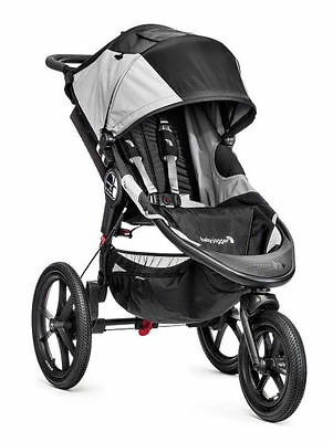 Baby Jogger Summit X3 Pram  Black Gray