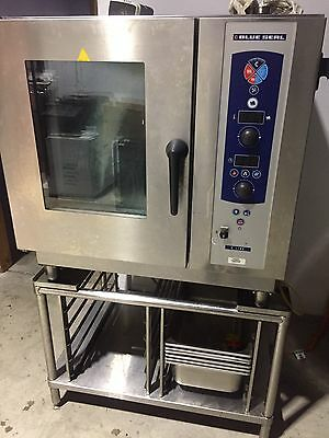 Blue Seal 9 Tray Combi Oven Excellent As New Working Condition. 3 Years Old Hard