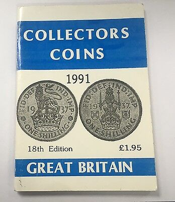 1991 Collectors Coins 18th Edition Coin Book  R J Marles
