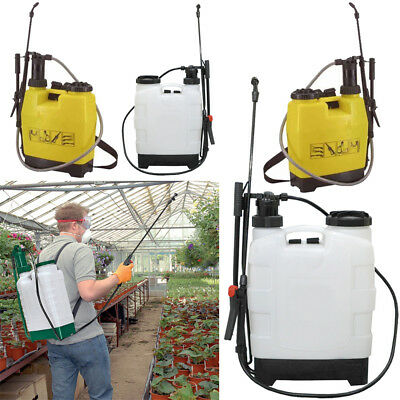 Weed Killer Pressure Spray Backpack Weeds Knapsack Chemical Plant Sprayer Garden